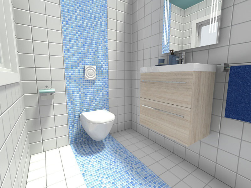 Get creative in how you lay your tiles.