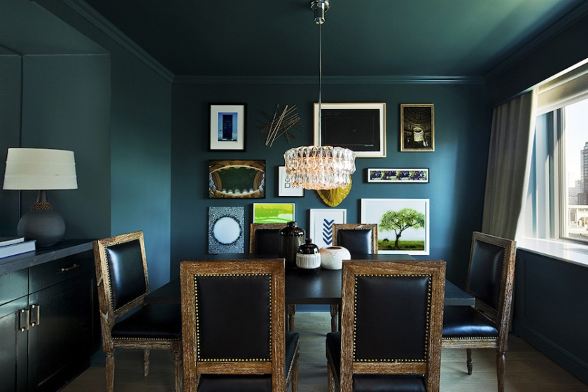 While we're being bold, you might even try doing the ceiling the same as all the walls and trim too!