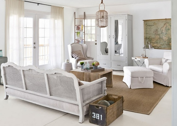 Country-chic-living-room-ideas-with-antique-mirrored-door-wardrobe.jpg