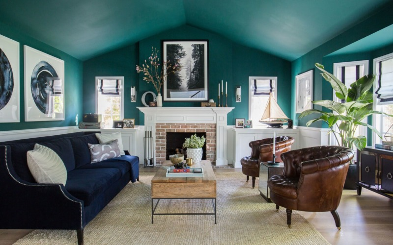 Or go big with your jewel tones this year for real impact!