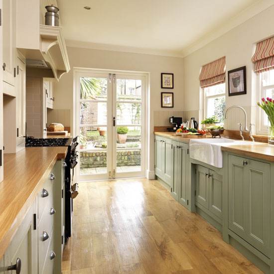 Green-painted-kitchen-French-doors-Beautiful-Kitchens-Housetohome.jpg