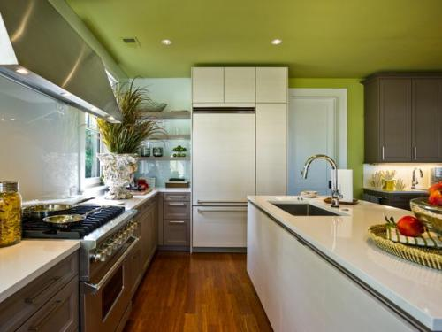 Modern-White-High-gloss-Cabinets-with-Green-Walls.jpg