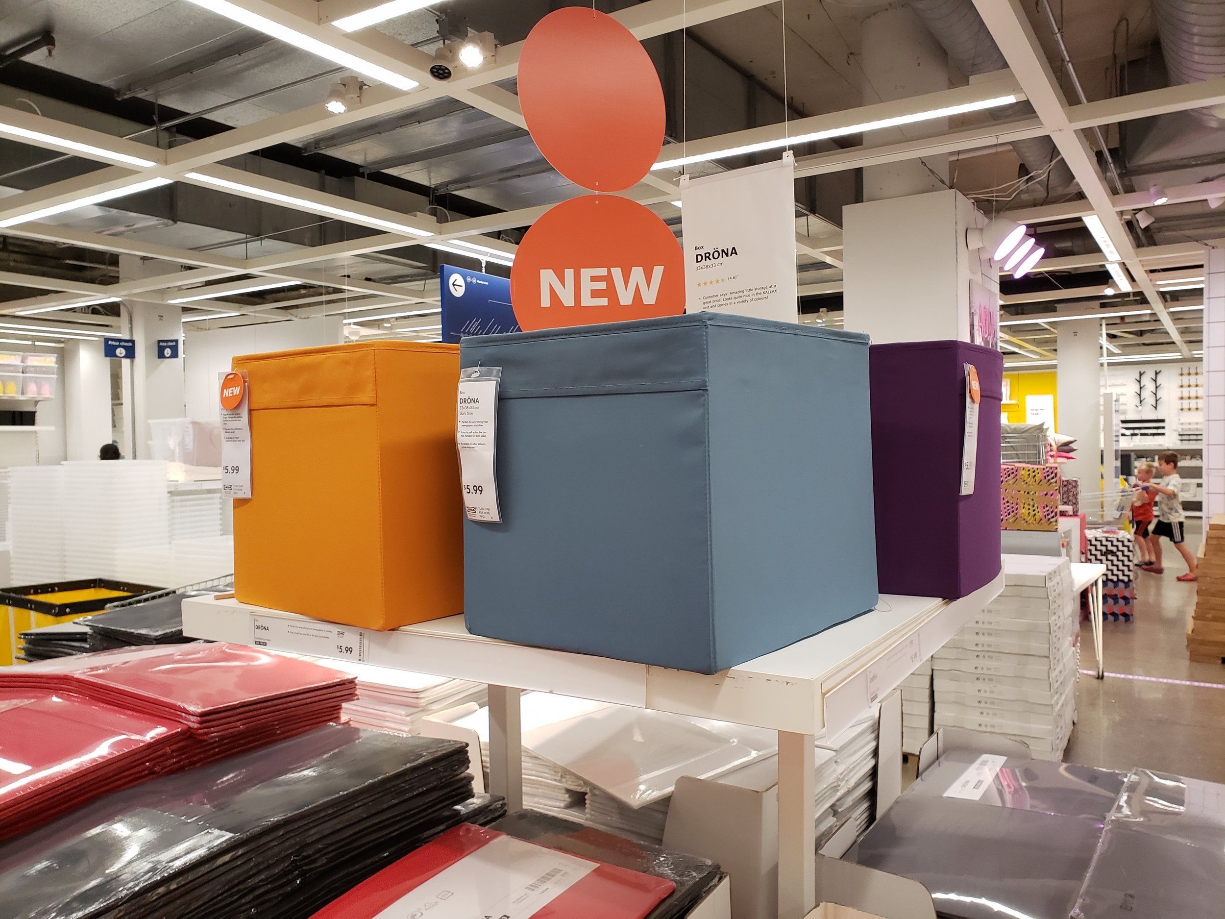 - You already know the shelving unit with the cubes, so here are just a few new colours for them! Nice for a little change-up, yes? Here is the full range.