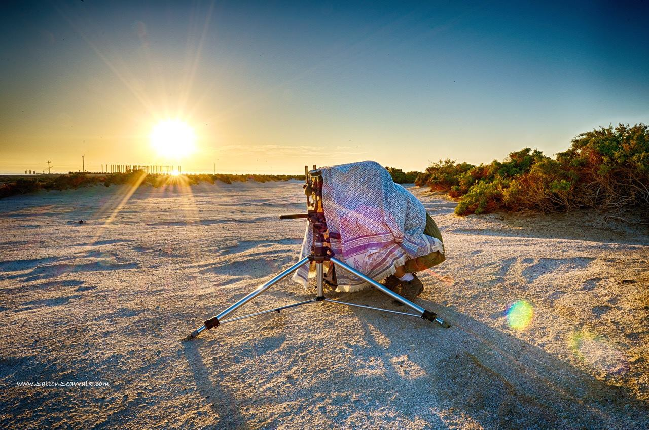Captured by  Salton Sea Walk , Randy Brown