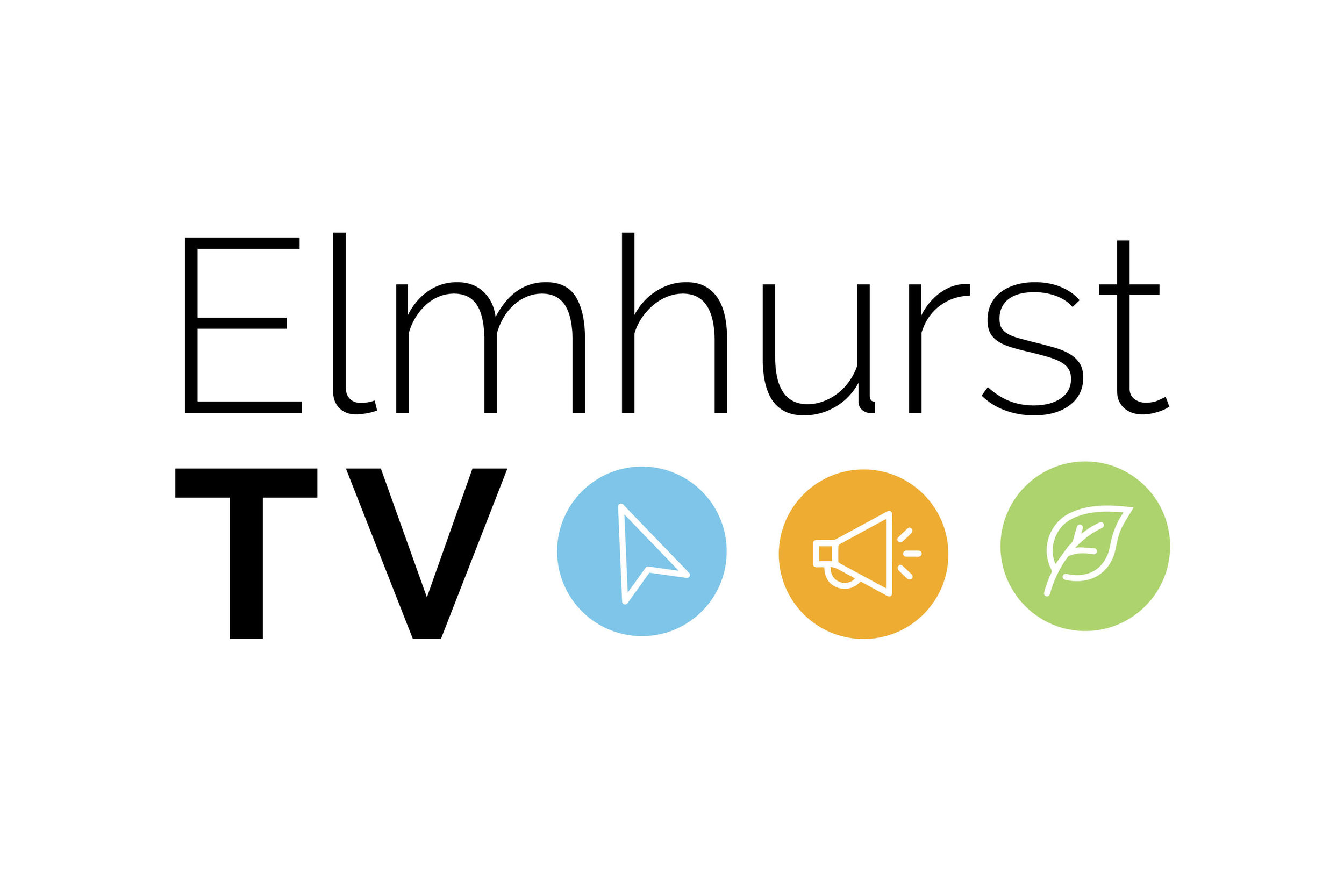 ElmhurstTV - ElmhurstTV was a preexisting YouTube channel and local TV station, but in desperate need of design. My goal was to create a branding system as the YouTube channel had three sub-channels, Elmhurst Now, City of Elmhurst, and Explore Elmhurst. View the gallery below to see the creative process from sketchbook to final logo.