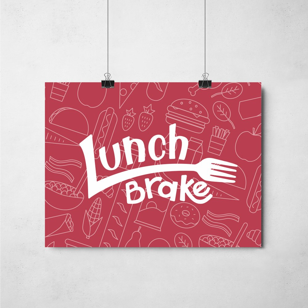 Lunch Brake - In the fall of 2017, I took a course called Detroit Neighborhood Entrepreneurs Projects in which we were given a client. My team worked with Achsha Jones, of the The Lunch Stop, a