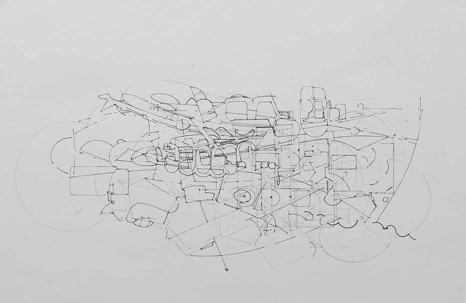 David Clark - NutShell # - Ink on Paper - 8x11.JPG