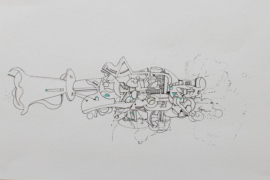 David Clark - NutShell #3 - Ink on Paper - 8x11.JPG