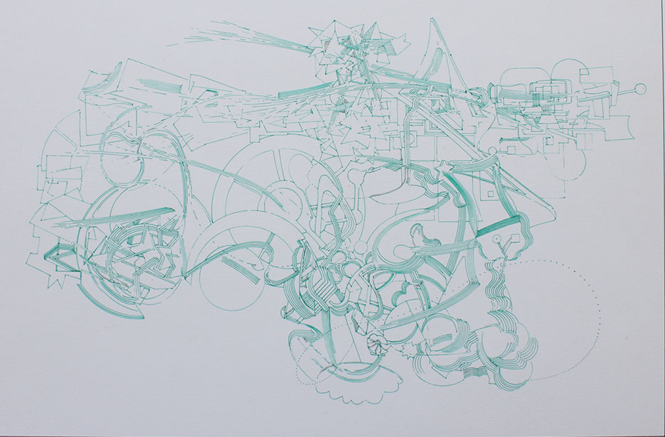 David Clark - Object-Orientted Ontology - Ink on Archival Paper - 11.5x8.JPG