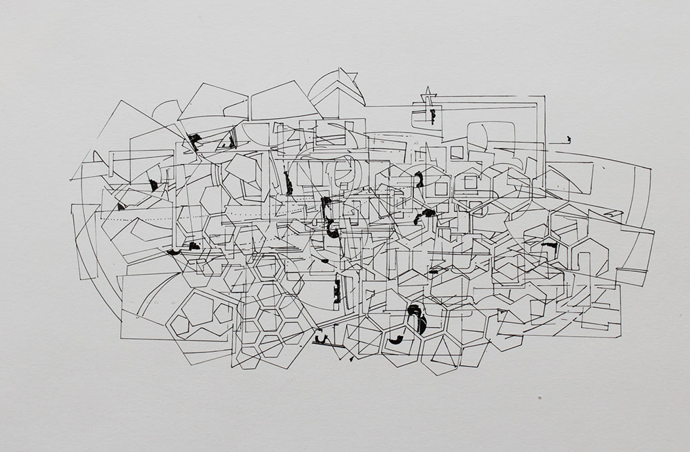David Clark - Untitle #2 -  Ink on ArtBoard Smoth Bristol - 20x16.JPG