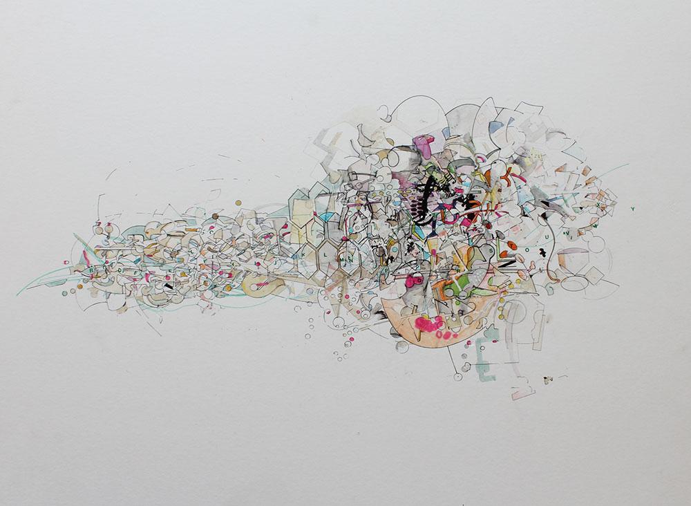 David Clark - Untitle #3 - Ink on ArtBoard Smoth Bristol - 20x16.JPG