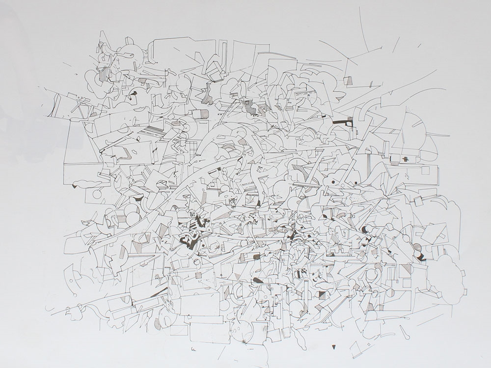 David Clark - All Over the World - Ink on Archival Paper - 20x26 .jpg