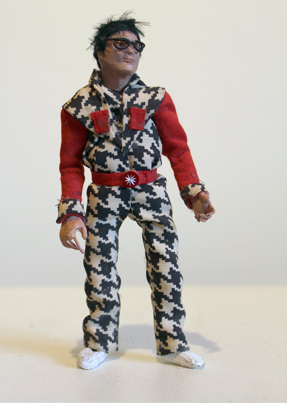 """Human Puppet"" - mixed media - 3.25""x6.75""x1.5"" : $325"