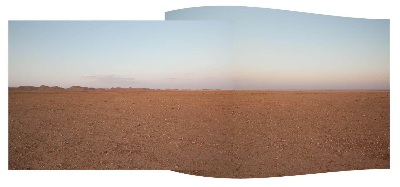 """'Desert Construct',  2010 - 22"""" x 47"""" - chromogenic print - $1,200.00"""