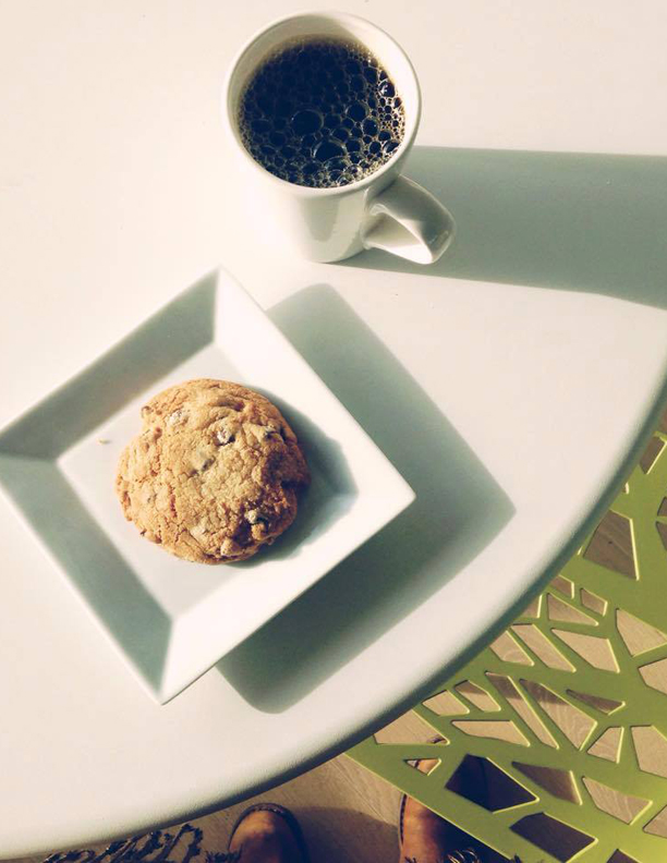 Copy of Copy of Copy of Our fair-trade organic medium roast...and a cookie to go with it!
