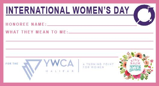 A campaign to support the YWCA and let people know about the amazing women in our lives!