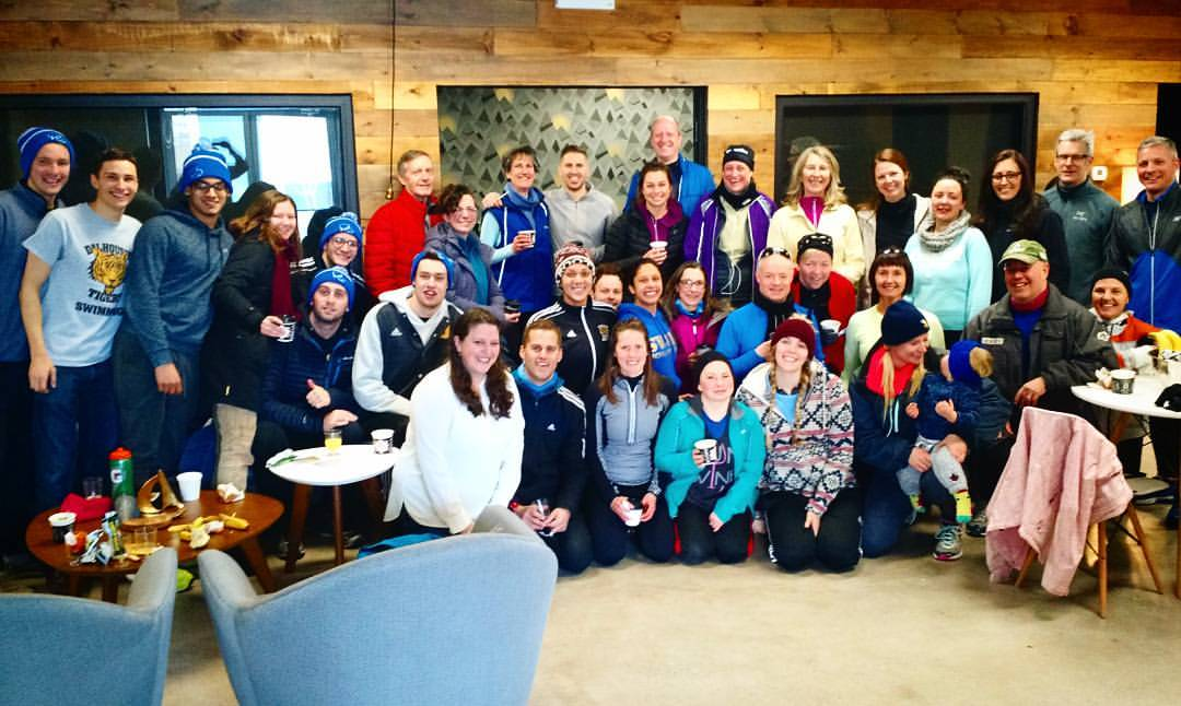 PAVIA takes part in PUSH Fitnesses' 10k run for Leave Out Violence (L.O.V.E) and also donates the post-run coffee and sweets to the runners who ran in -24 degree cold!