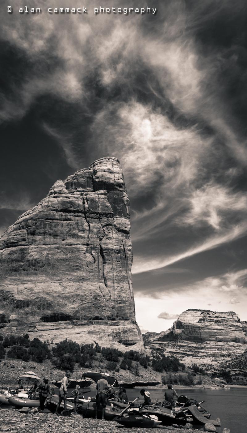 Steamboat Rock Sky