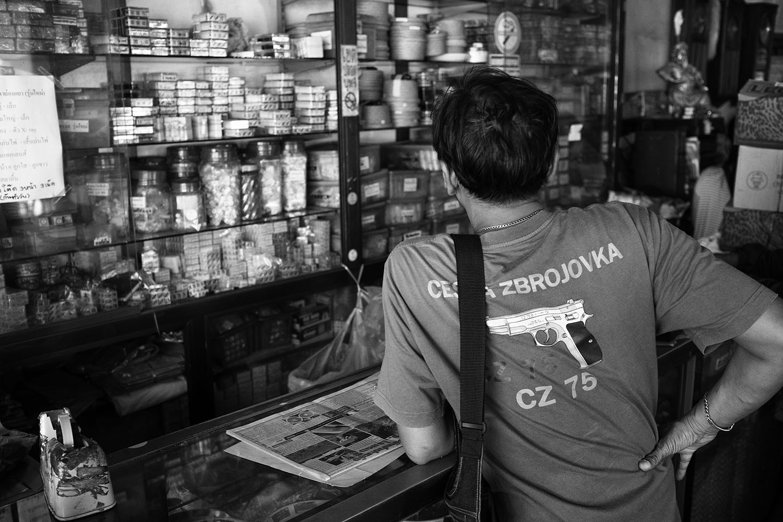 Dice shop, Bangkok, 2015