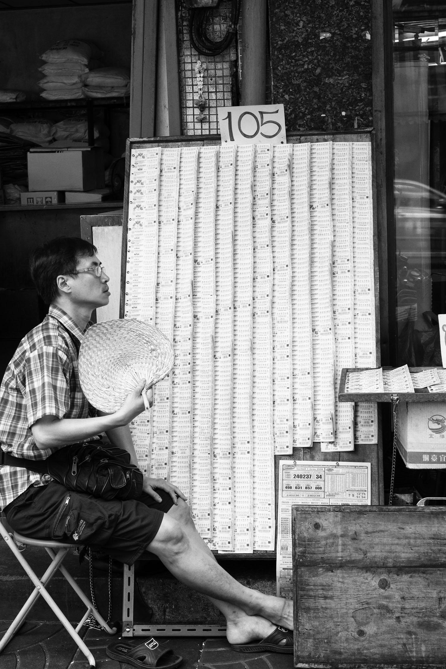 Lottery, Bangkok, 2015