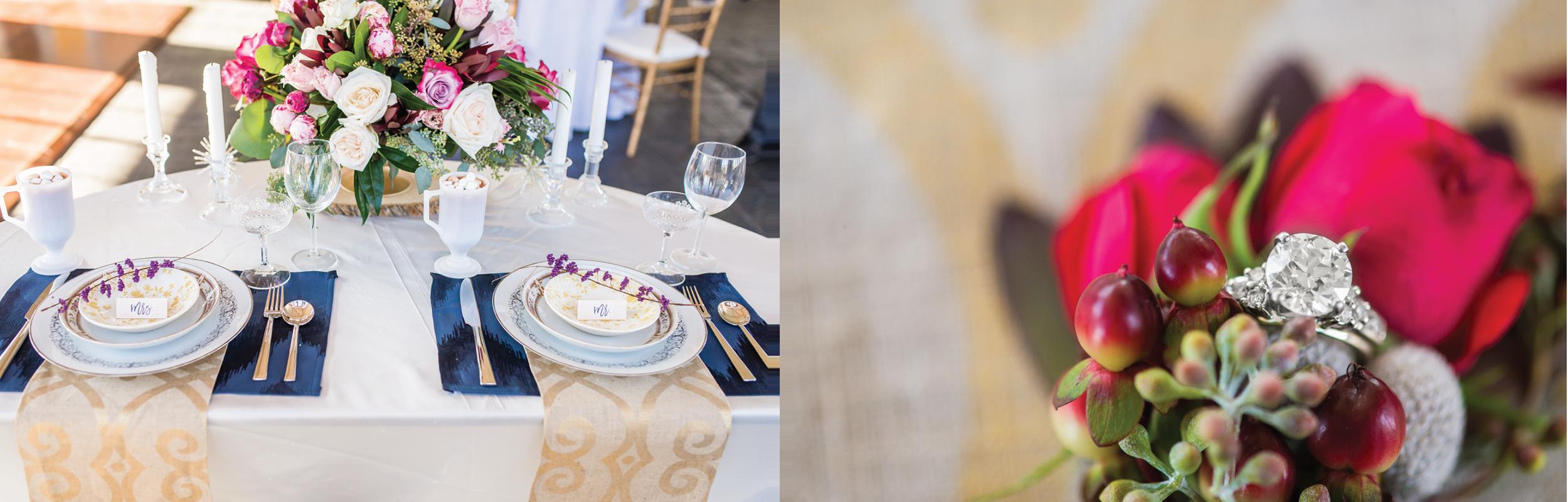 winter wedding styled shoot, wedding invitation inspiration