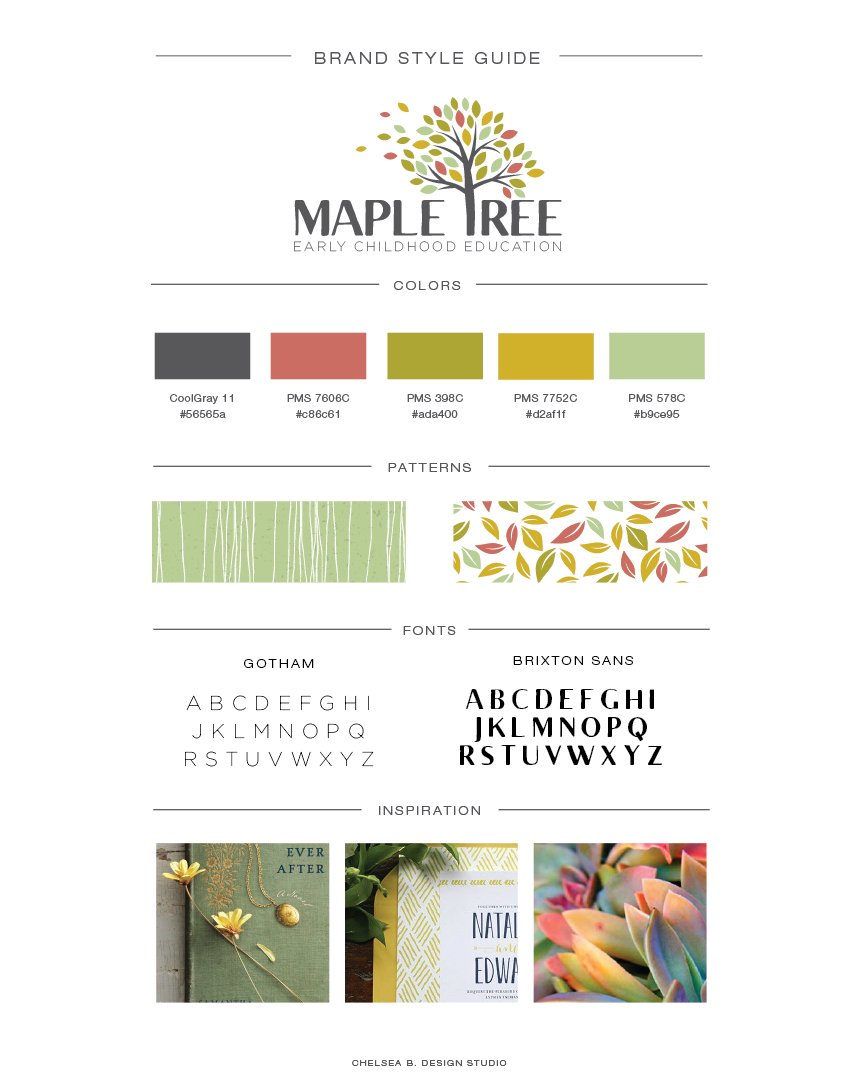 Chelsea B Design Studio | Small Business Branding and Logo Design