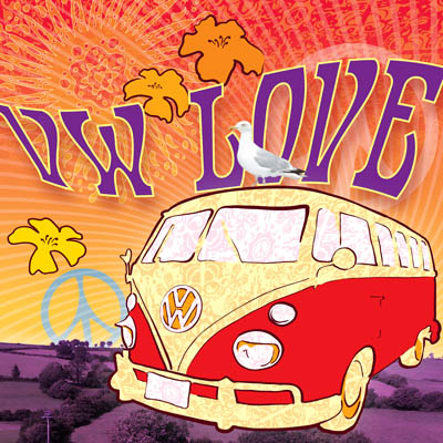AB243- VW Love