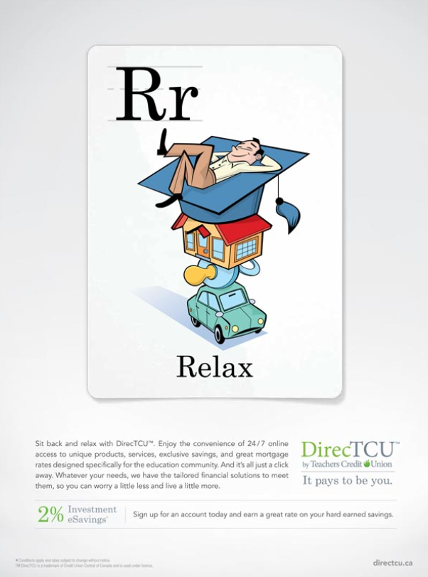 Relax illustration ©Rémy Simard/i2iart