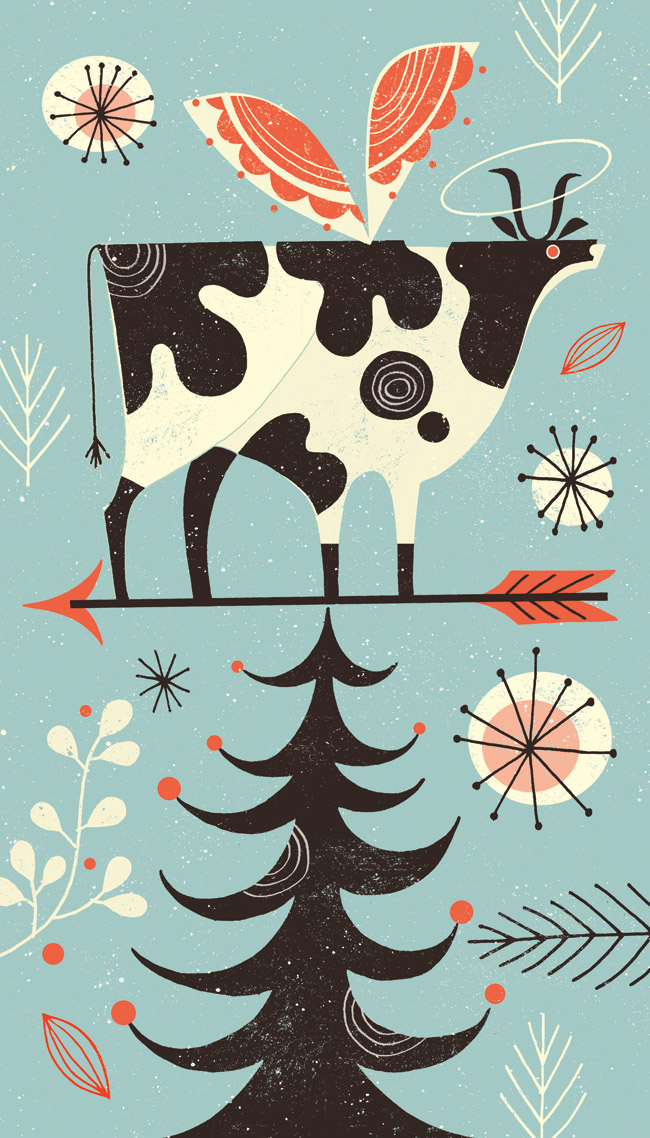Holy Cow illustration ©Tracy Walker/i2iart