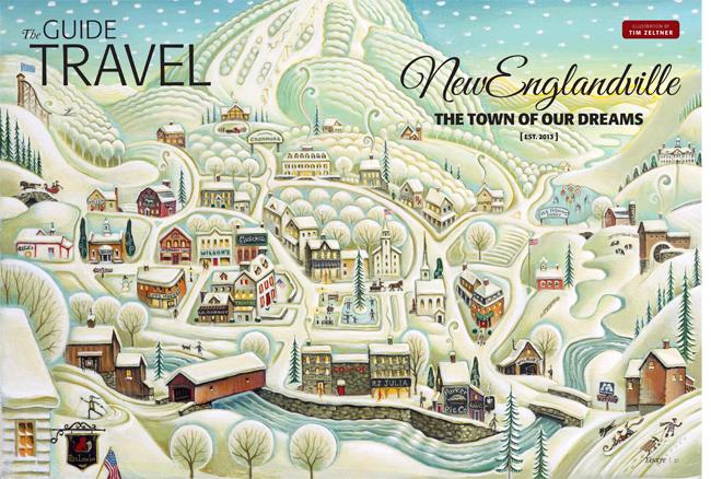 New Englandville spread ©Tim Zeltner/i2iart