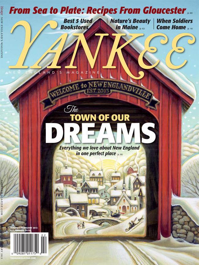 New Englandville cover ©Tim Zeltner/i2iart