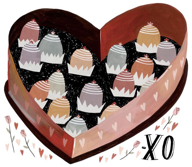 XO, Happy Valentine's Day - MH460