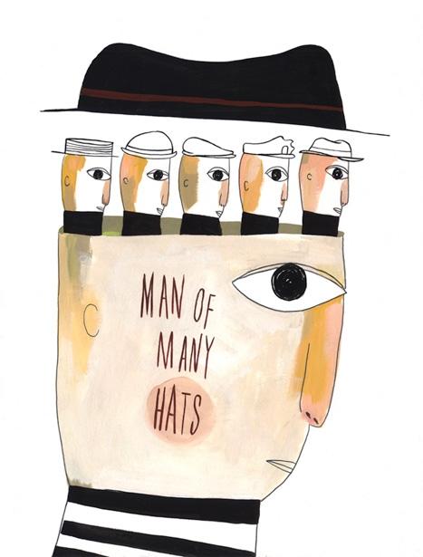 Man of Many Hats - MH164