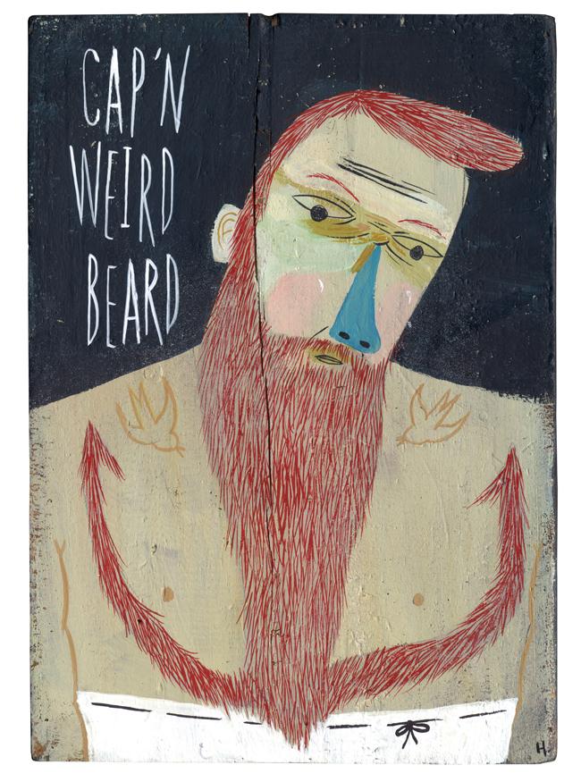 Cap'n Weird Beard - MH401