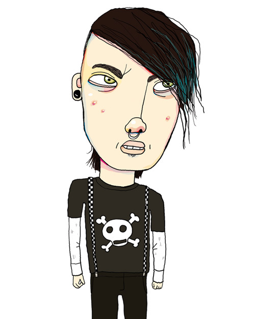 Angry Teen - MM740