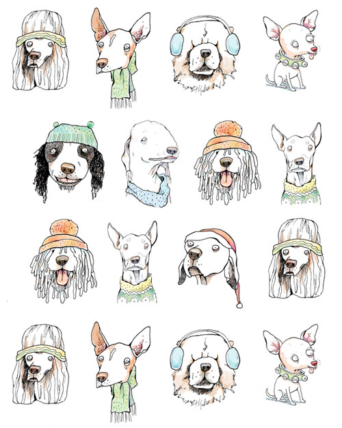 Winter Dogs - MM741