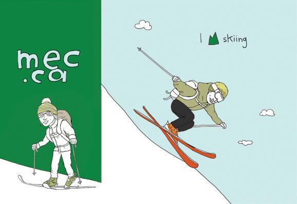 I Love Skiing - MM501b