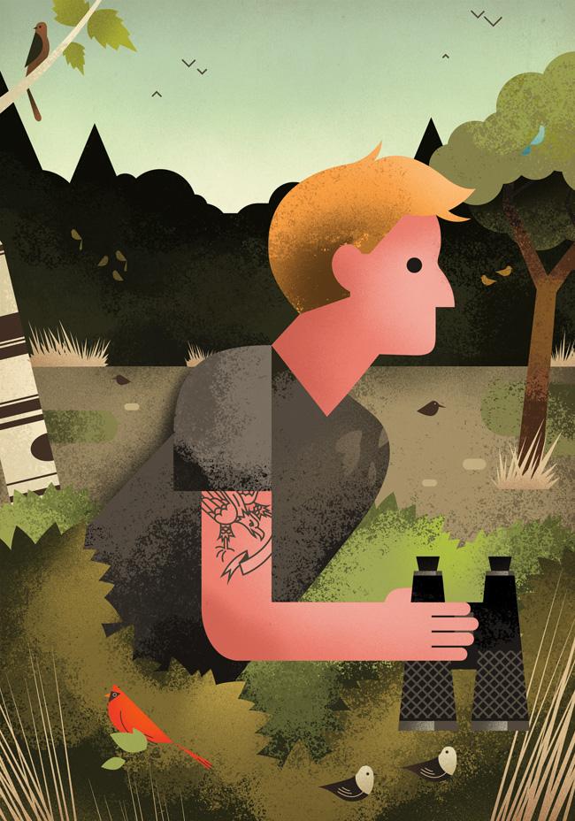 Birdwatching Hipsters - DM193