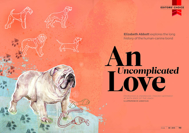 An Uncomplicated Love, Joey the Bulldog