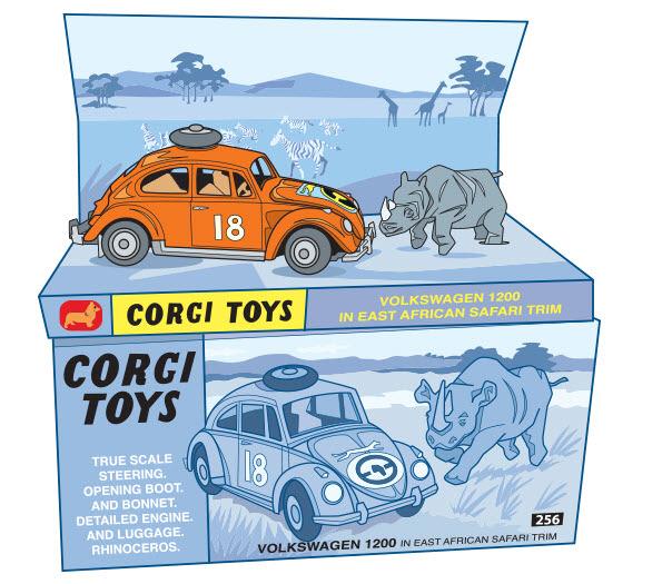 Corgi Toy Car - RS766