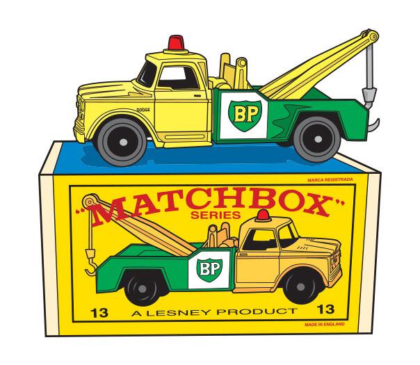 Matchbox BP Tow Truck - RS768