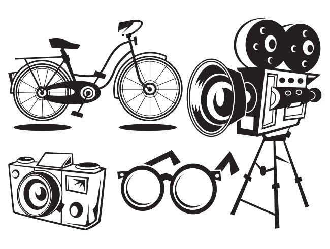 Black and White Icons - RS729