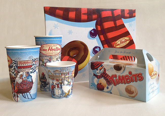 Seasons Greetings from Tim Hortons - GA665b