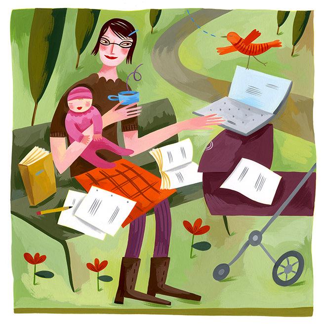 Multi-tasking Mom - BE244
