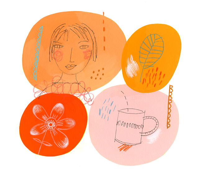 'Orange Mix' by Betsy Everitt