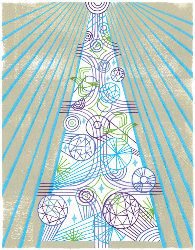 Crystal Tree - TS245
