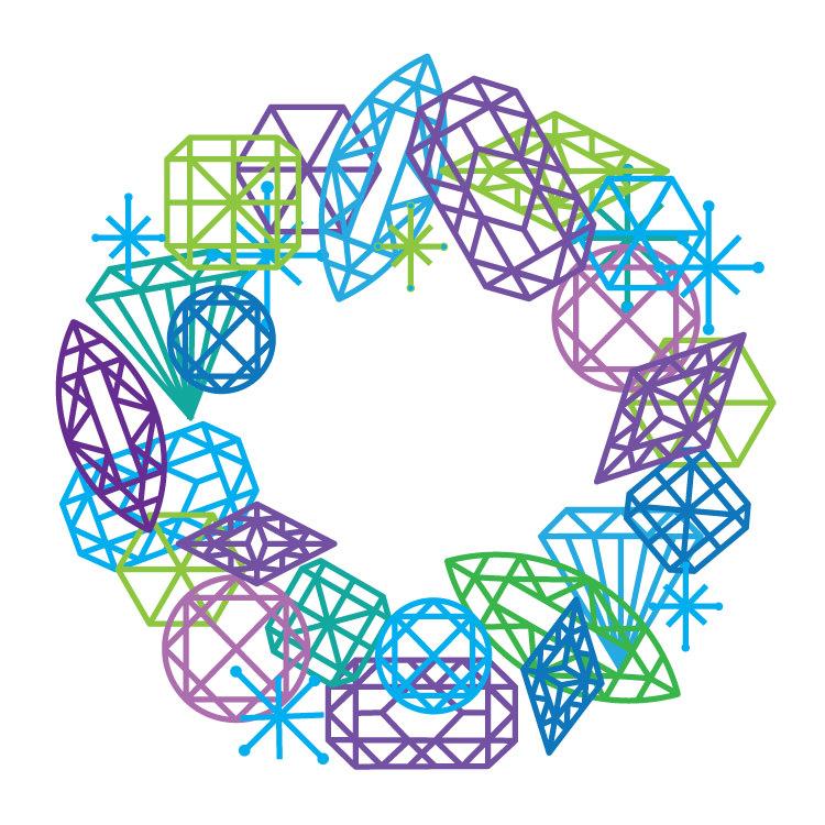 Gem Wreath - TS293