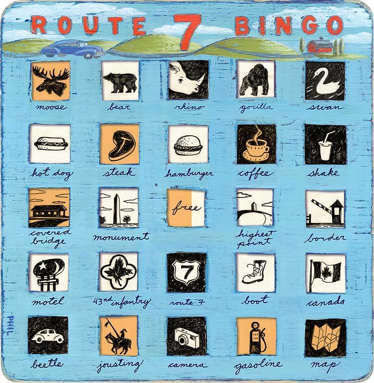 Route 7 Bingo - PG316