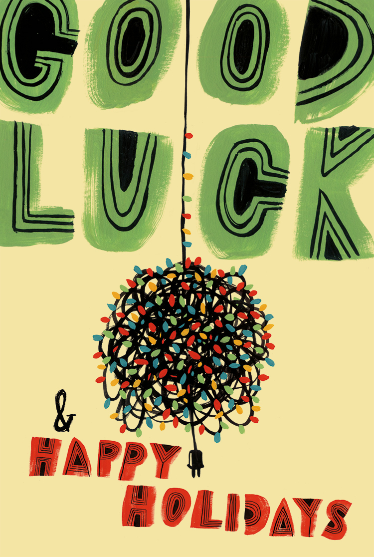 Good Luck & Happy Holidays - MH764