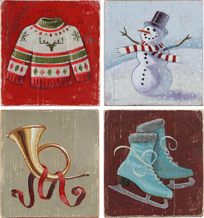 Christmas Illustrations by Phil i2i Art